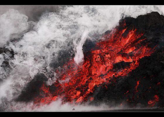 Sopka Katla patří mezi nejznámější sopky