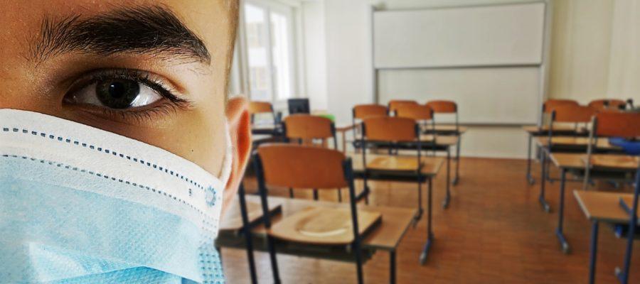 Class Corona Mask Classroom School  - Alexandra_Koch / Pixabay